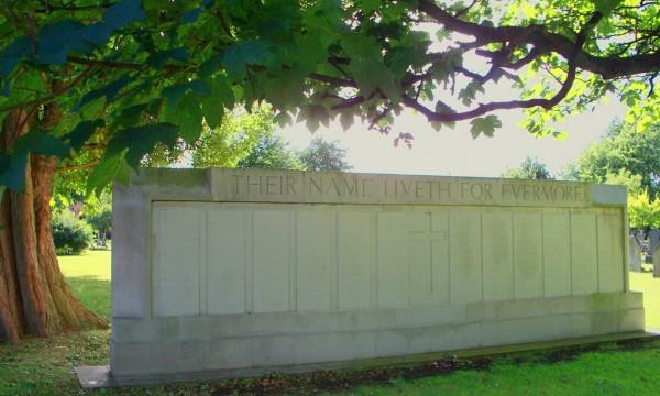 WAR MEMORIAL from east