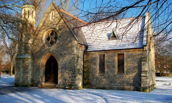 CHAPEL IN SNOW 1