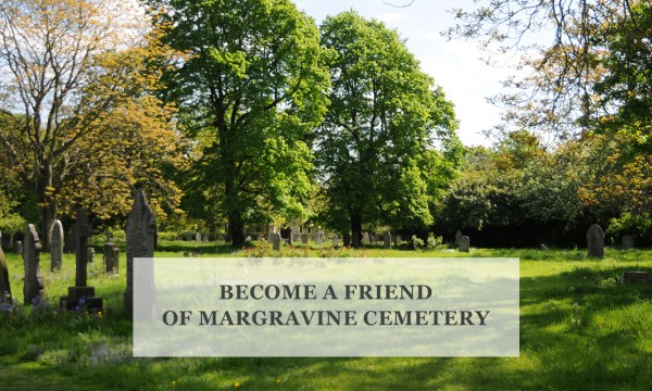 Become a friend of Margravine Cemetery