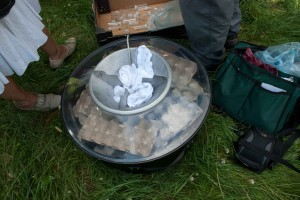 Equipment for moth survey